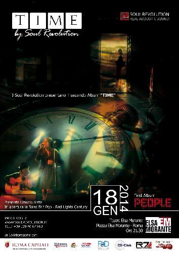 Concerto dei Soul Revolution - Presentazione secondo album TIME